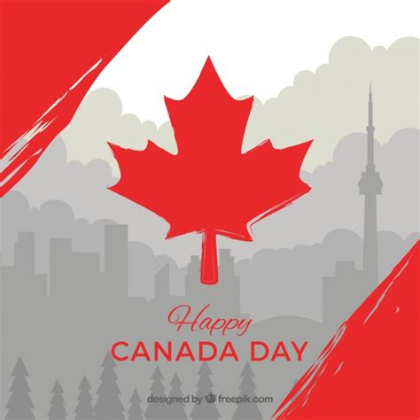 canada background gray canada day background with details vector free