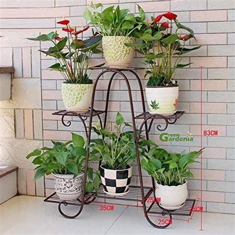 green gardenia iron plant stand pot stand  pot holder