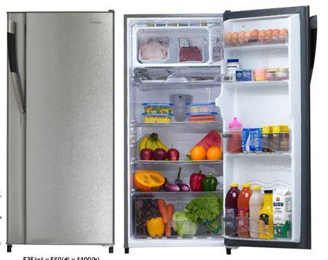 Daftar Lemari Es 1 Pintu daftar harga kulkas lemari es1 pintu sharp bulan april