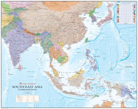 east asia physical map east asia map physical
