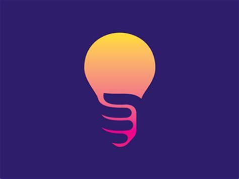 Light Bulb Logo By Jan Zabransky Dribbble The Light Company