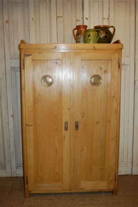 Antique Larder Cupboard - antique pine storage cupboard larder or pantry cupboard