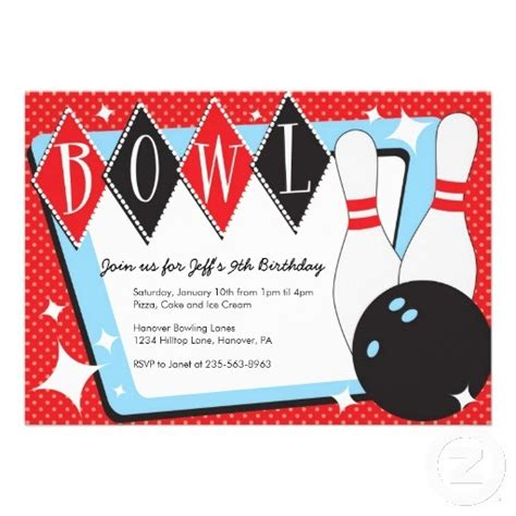 bowling birthday invitations free templates printable bowling pin template clipart best