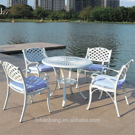 cheap outdoor table and chairs cheap white wrought cast iron outdoor table and chair