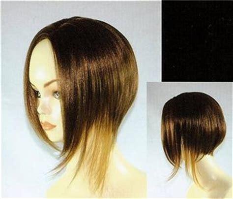 wedge cut wigs medium short straight hair wig w wedge cut uneven bob wigs ebay