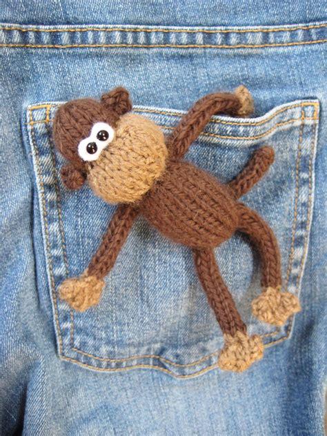 Monkey Knits knitted animal patterns a knitting