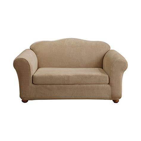sure fit royal sofa slipcover sure fit stretch royal 2 piece loveseat