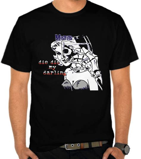 jual kaos the misfits die die my the misfits satubaju