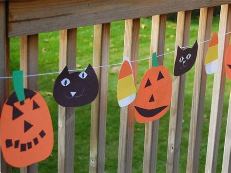 halloween decorations to make at home for kids halloween garland pictures photos and images for