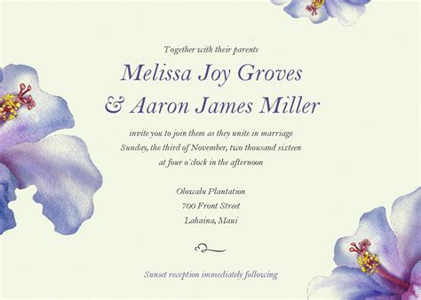 Email Wedding Invitations Templates Free Email Wedding Invitation Templates