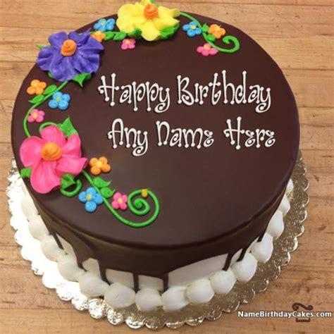 arrival happy birthday chocolate cake