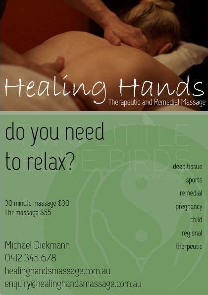 Massage Therapy Flyer the world s catalog of ideas