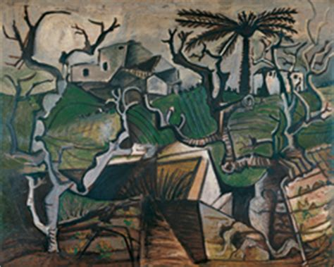 picasso nature paintings pablo picasso winter landscape winter in