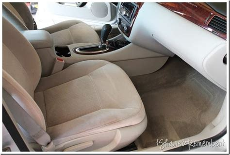 cleaning upholstery with oxiclean clean car upholstery and inside with oxi clean i just did