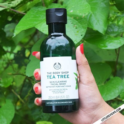 The Shop Tea Tree the shop tea tree skin clearing wash review