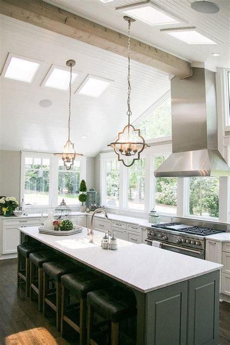 vaulted ceiling kitchen vaulted ceiling in kitchen design ideas