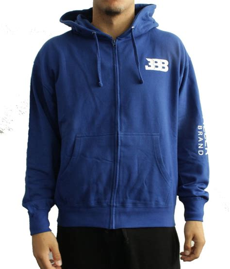 Hoodie Logo Big Baller Brand Bbb hustle zip up hoodie white vinyl bbb big baller brand