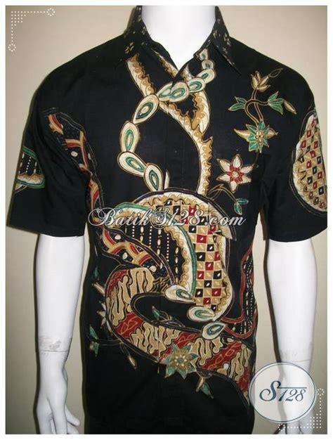 Celana Pendek Batik Pria Murah baju batik tulis pria gaul lengan pendek modern murah 2012