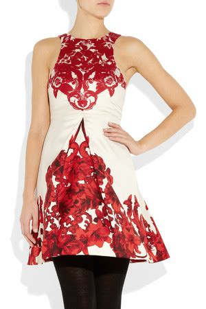Silk Printed Silk Dress Intl floral trend for 2012 marc by marc dusty