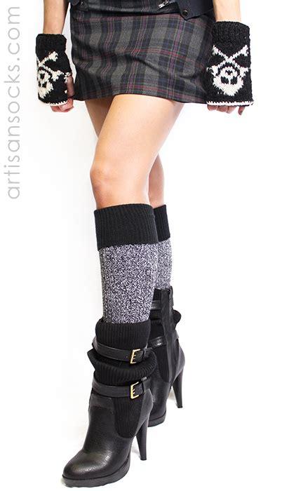 soft dreamy boot socks knee high socks with black cuff