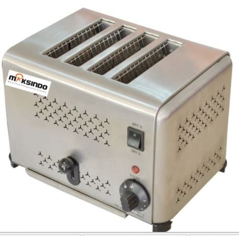 Pemanggang Roti Hello jual mesin bread toaster roti bakar d04 di surabaya