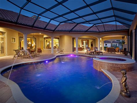 mediterranean house plans with pool mediterranean golf course home mediterranean pool