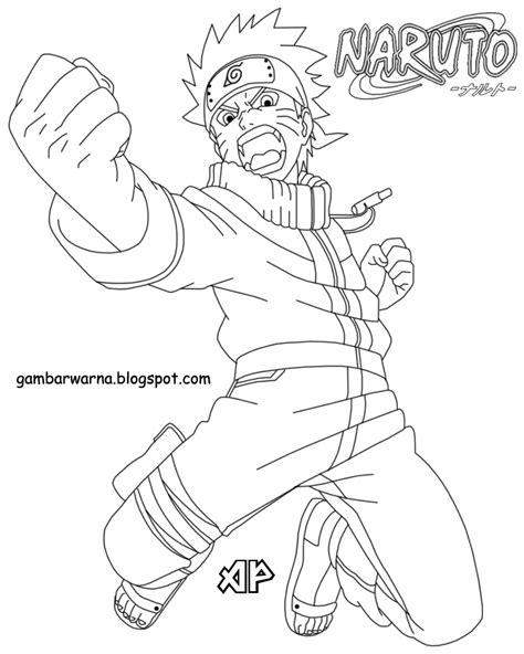 Mewarnai Naruto | Belajar Mewarnai Gambar