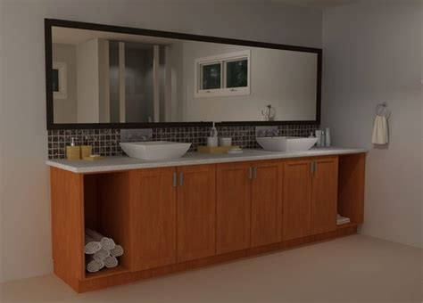 Ikea Floating Bathroom Vanity Using Kitchen Cabinets