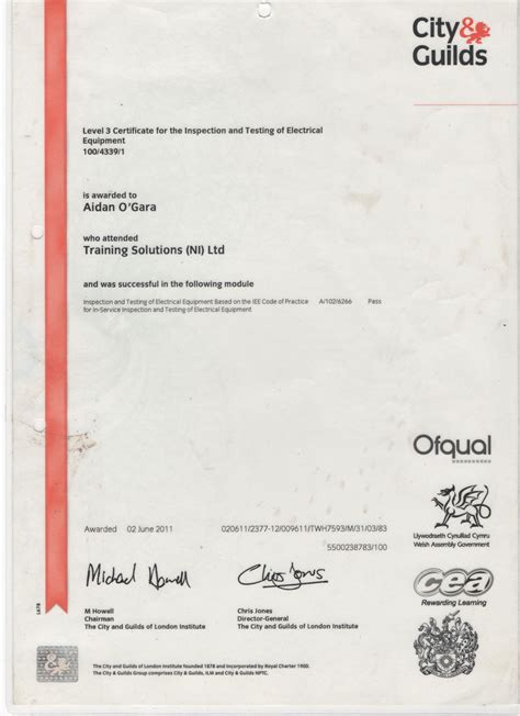 pat testing certificate template p a t testing bouncy castle hire marquee hire in omagh