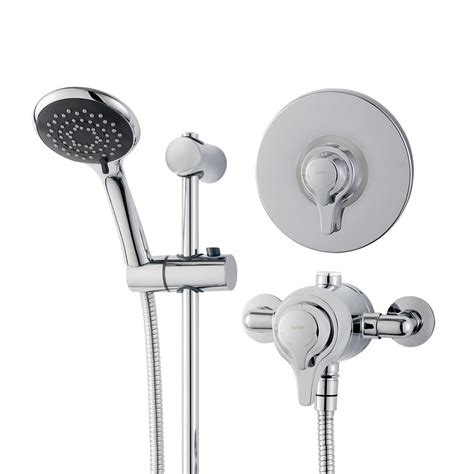 bath mixer with shower concentric mixer shower triton showers