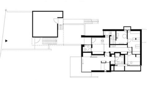 Einfamilienhaus Am Hang Grundrisse by Kleiner Grundriss Am Hang Modernes Einfamilienhaus
