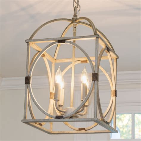 wood circle lattice hanging lantern shades of light