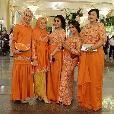 Riana Maroon Dress Pesta Hijabers Mewah 25 inspirasi model baju kebaya muslim elegan dan modern