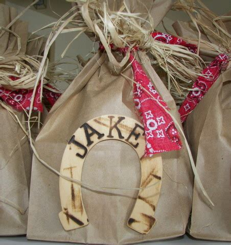 cowboy party favor | favors for the cowboy party are
