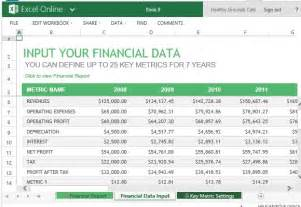 financial reporting templates excel 4 financial report templates word excel pdf templates