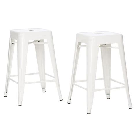 Tabouret 24 Inch Metal Counter Stools Set Of 2 by Best 25 24 Inch Bar Stools Ideas On 24 Bar