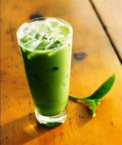 membuat ice cream green tea cara membuat thai milk green tea resep cara membuat