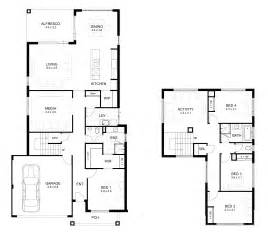 Granny Flat Floor Plans 2 Bedrooms double storey 4 bedroom house designs perth apg homes