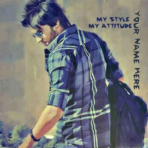 My Style my style my attitude image with name