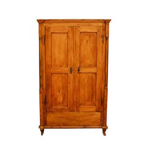 19th Century Country Style Pine 19th Century Pine Armoire Erin Estate
