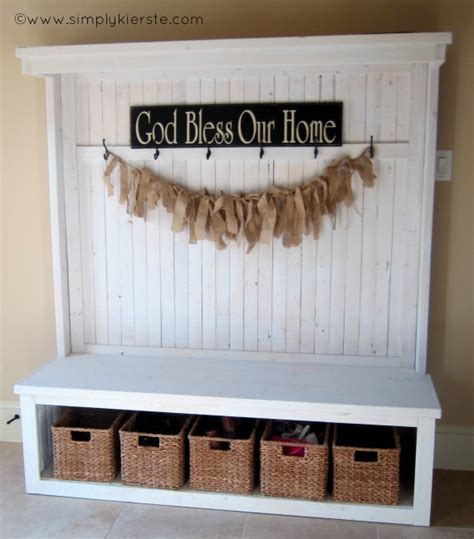 front entrance storage bench front entry bench simply kierste design co