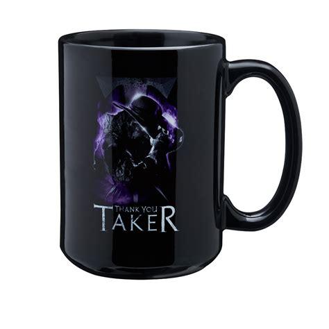 design a mug big w undertaker quot thank you taker quot 15 oz mug wwe us