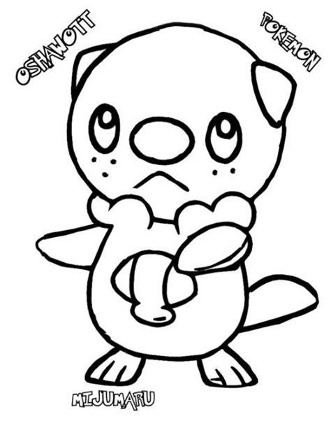 dewott pokemon coloring page oshawott dewott samurott coloring pages www pixshark com
