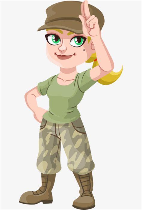 imagenes animadas de amor de soldados pintado a mano de mujer rubia vistiendo un sombrero
