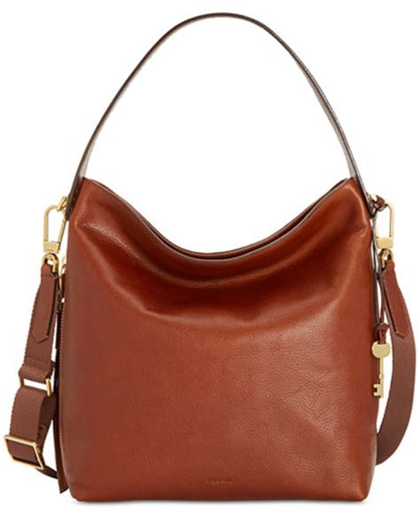 L Wine By Fossil fossil medium leather hobo handbags accessories