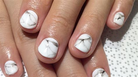 Where To Get Nail by Marble Nails How To Get The Manicure Trend In 5 Steps