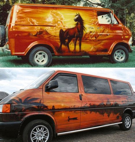 don't come knocking: 21 vans that are definitely rocking