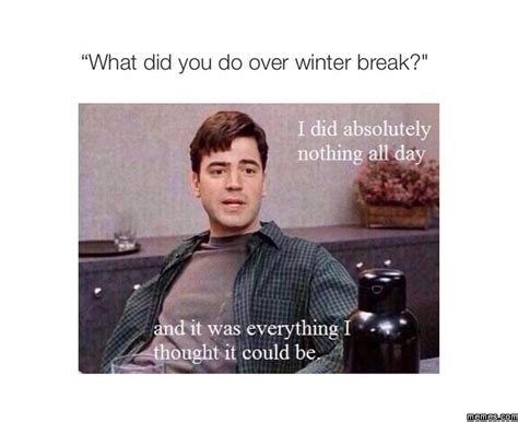 Winter Break Meme - winter break summary memes com