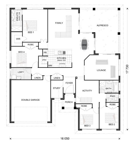 Freshwater 264 Award Home Designs In Queensland Gj Gj Gardner Homes House Plans