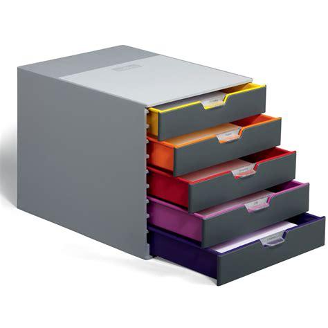 module de classement bureau durable module de classement varicolor 5 tiroirs 7605 27